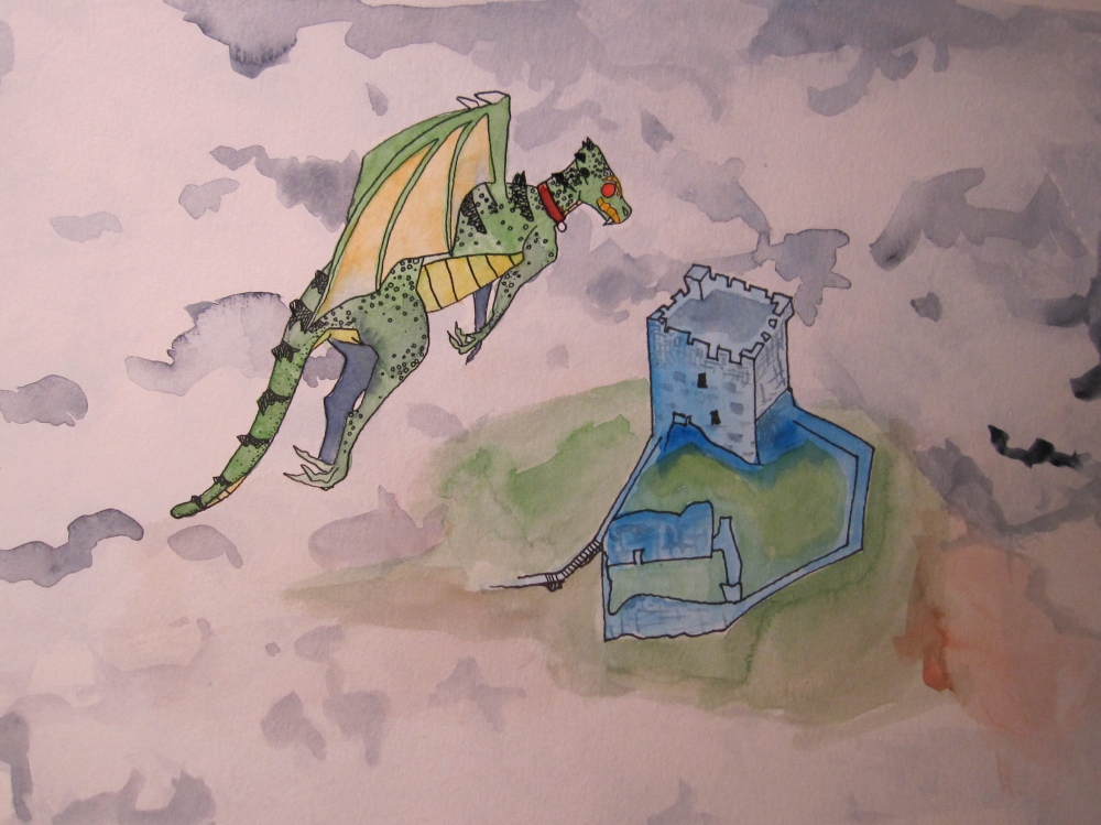 Custard and the Wicked Knight by Ogden Nash with some different illustrations (6/6)